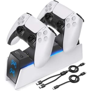 OIVO PS5 Dual Controller Charger Dock Station for $18