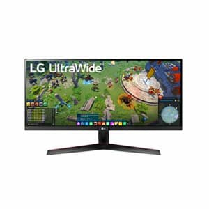 LG 29WP60G-B 29 Inch 21:9 UltraWide Full HD (2560 x 1080) IPS Monitor with sRGB 99% Color Gamut and for $227