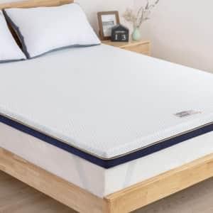"BedStory 3"" California King Memory Foam Mattress Topper for $70"