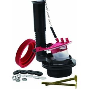 "Fluidmaster 3"" Complete Adjustable Toilet Flush Valve Repair Kit for $13"