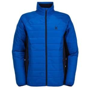 Spyder Men's Glissade Full Zip Insulator Jacket for $64