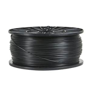 Monoprice - 110551 PLA 3D Printer Filament - Black - 1kg Spool, 1.75mm Thick | | For All PLA for $35