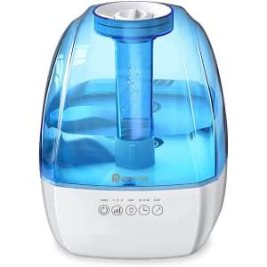 Dreamegg 4.5L Ultrasonic Cool Mist Humidifier for $20
