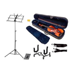 Stage Right Sonata by Monoprice Violin Bundle for $70
