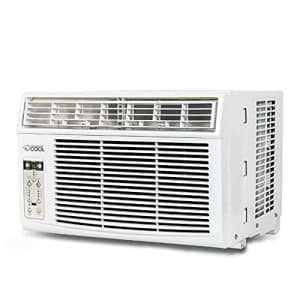 Commercial Cool CC06WT Window Air Conditioner, 6000 BTU, White for $197