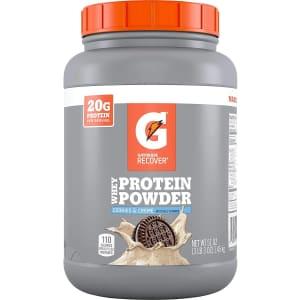 Gatorade 50-Serving Whey Protein Powder for $26 w/ Prime