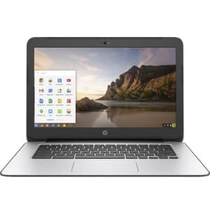 "HP Chromebook G4 Celeron Bay Trail 14"" Laptop for $120"