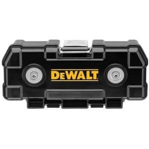 DeWalt 20-Pc. Screwdriver Bit Set with Magnetic ToughCase for $30