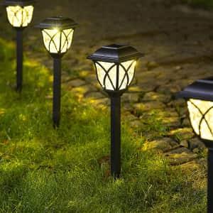 Solpex LED Solar Garden Light 6-Pack for $30
