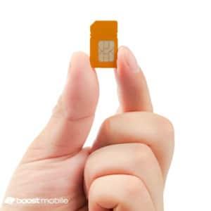 Boost Mobile 3-in-1 SIM Kit for $1
