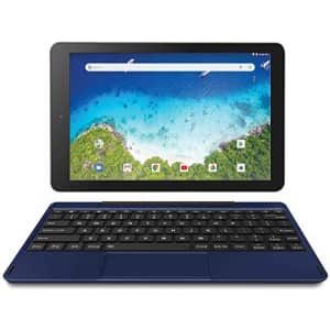 """RCA Viking Pro 10"""" 2-in-1 Tablet 32GB Quad Core Blue Laptop Computer with Touchscreen and for $160"""