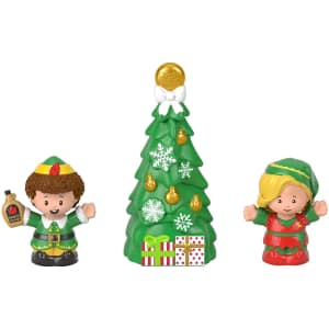 Fisher-Price Little People Collector Elf Movie Figure Set for $15