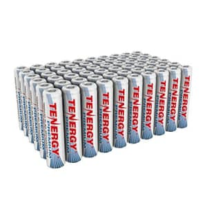 Tenergy Premium Rechargeable AAA Batteries, High Capacity 1000mAh NiMH AAA Batteries, AAA Cell for $43