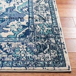 Safavieh Monaco Collection MNC243A Boho Chic Medallion Distressed Non-Shedding Stain Resistant for $74