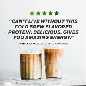 Vega Protein & Energy, Classic Chocolate, Plant Based Coffee Protein Powder - Vegan Protein Powder, for $50