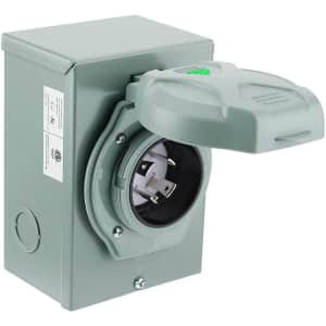 30A Generator Power Inlet Box for $45