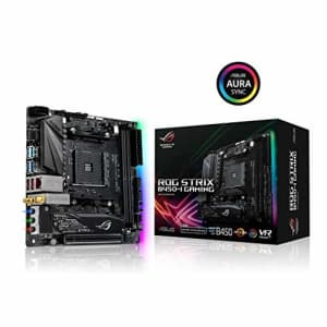 ASUS ROG Strix B450-I Gaming AMD AM4 (3rd/2nd /1stGen Ryzen ITX SFF Motherboard (Intel Gigabit for $209