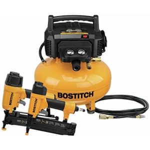 BOSTITCH Air Compressor Combo Kit, 2-Tool (BTFP2KIT) for $243