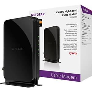 Netgear CM500 DOCSIS 3.0 Cable Modem for $40