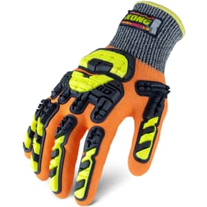 Ironclad Kong XL Cut Resistant Impact Gloves for $14