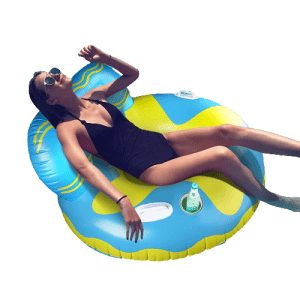 Reapp Lounge Chair Pool Float for $16