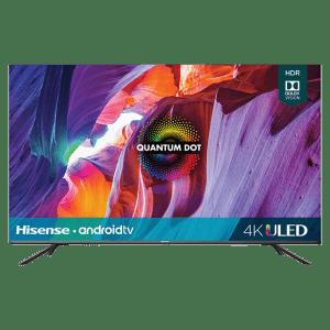"Hisense 54.6"" 4K HDR LED UHD Android Smart TV for $856"