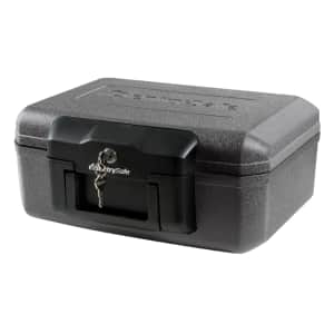 SentrySafe Fireproof Lock Box for $20