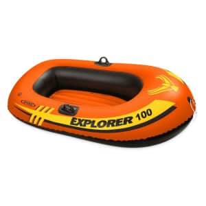 Intex Explorer 100 1-Person Inflatable Boat for $15