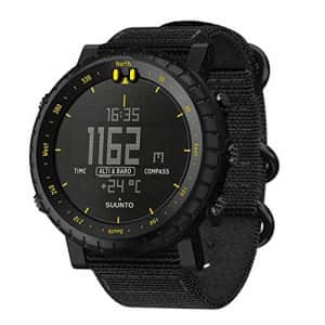Suunto Unisex's Core Outdoor Watch, Black Yellow, One Size for $229