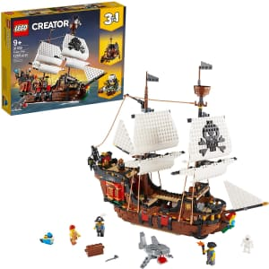 LEGO Creator Pirate Ship Building Playset for $85
