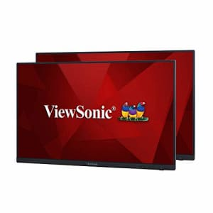 ViewSonic VA2256-MHD_H2 Frameless Dual Pack Head-Only 1080p IPS Monitors with HDMI DisplayPort and for $352