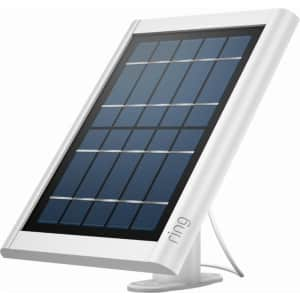 Ring Solar Panel for Ring Spotlight Cam Battery and Stick Up Cam Battery for $21