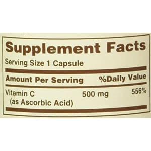 Sundown Vitamin C 500 mg Capsules Time Release 90 Capsules for $6