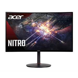 """Acer Nitro XZ270 Xbmiipx 27"""" 1500R Curved Full HD (1920 x 1080) VA Zero-Frame Gaming Monitor with for $324"""