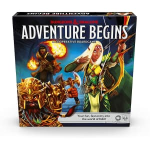 Hasbro Dungeons & Dragons Adventure Begins Board Game for $25