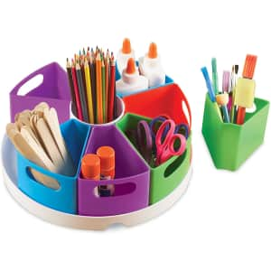Learning Resources Create-a-Space Storage Center for $16