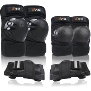PHZ 6-Piece Protective Gear Set for $23