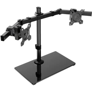 Huanuo Dual Monitor Stand for $12