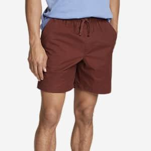 Eddie Bauer Men's Voyager Flex Pull-On Shorts for $22
