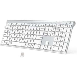 iClever Wireless Bluetooth Keyboard for $18