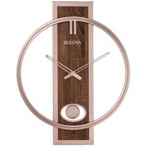 Bulova Phoenix Slow-Swing Pendulum Wall Clock for $89