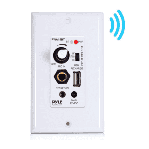 Pyle Bluetooth In-Wall Amplifier for $35