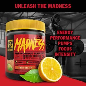 MUTANT MADNESS - Redefines the Pre-Workout Powder Experience and Takes it to a Whole New Extreme for $35