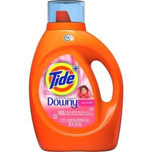 Tide with Downy Liquid Laundry Detergent 92-Oz. Bottle for $13