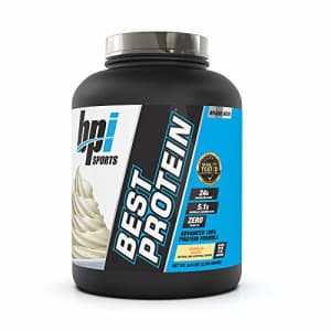 BPI Sports Best Protein 100% Whey Protein Blend Muscle Growth, Recovery, Meal Replacement No for $54