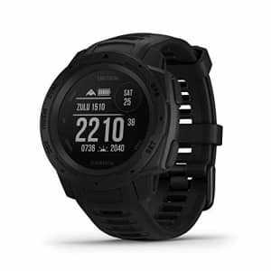 Garmin Instinct Tactical, Rugged GPS Watch, Tactical Specific Features, Constructed to U.S. for $266