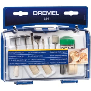 Dremel 20-Piece Cleaning & Polishing Rotary Tool Accessory Kit for $10