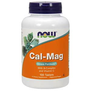 Now Foods NOW Supplements, Cal-Mag Stress Formula with B-Complex and Vitamin C, 100 Tablets, Pack of 1 for $15