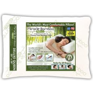 Ontel Miracle Shredded Memory Foam Pillow for $30