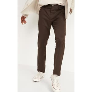 Old Navy Men's Slim Ultimate Flex Chino Pants for $15 in cart